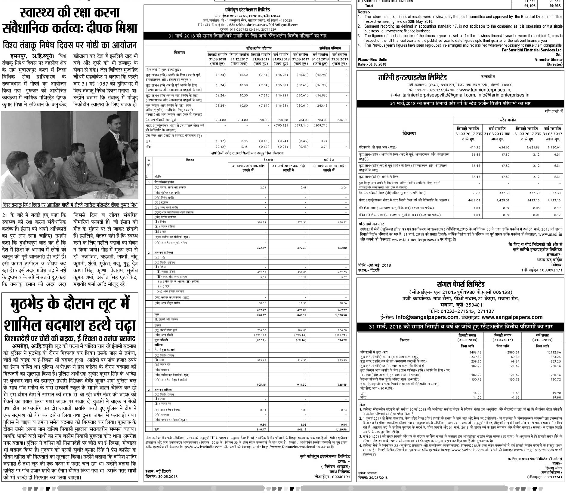 Results_Hindi_Newspaper